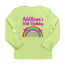 BLESSED 60TH Long Sleeve Infant T-Shirt