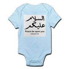 Peace be upon you Arabic Infant Bodysuit