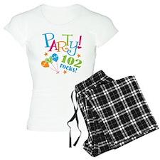 102nd Birthday Party Pajamas
