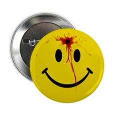 "Yellow Smiley Face 2.25"" Button"