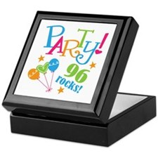 96th Birthday Party Keepsake Box