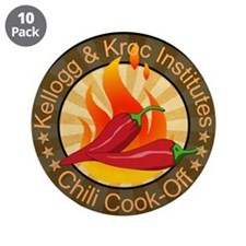 "Kellogg Chili Cookoff 3.5"" Button (10 pack)"