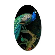 Vintage Peacock Wall Decal