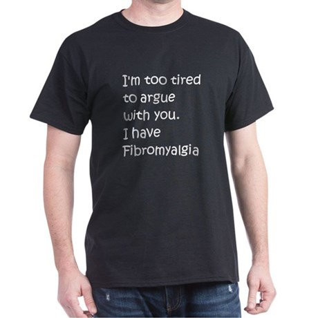 Fibromyalgia Dark T-Shirt