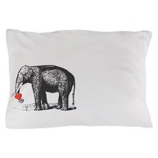 His And Hers Elephant Matching Pillow Case