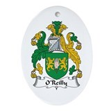 O'Reilly Oval Ornament