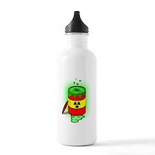 Toxic Spill Barrel Sports Water Bottle