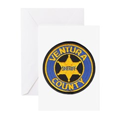 Ventura County Sheriff Greeting Cards (Package of