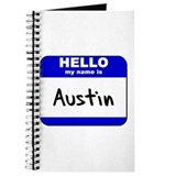 hello my name is austin Journal