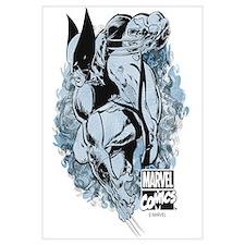 Wolverine Pose Wall Art