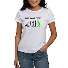 Custom Tennis Evolution (Green) T-Shirt
