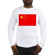 China Flag Long Sleeve T-Shirt