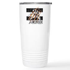 Wolverine Scratch Travel Mug