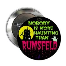 Rumsfeld Horror Button (10 pk)