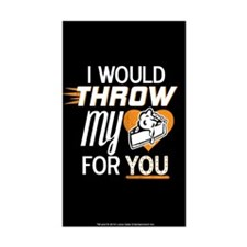 I Would Throw My Pie for You Decal