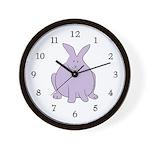 Big Bunny Wall Clock