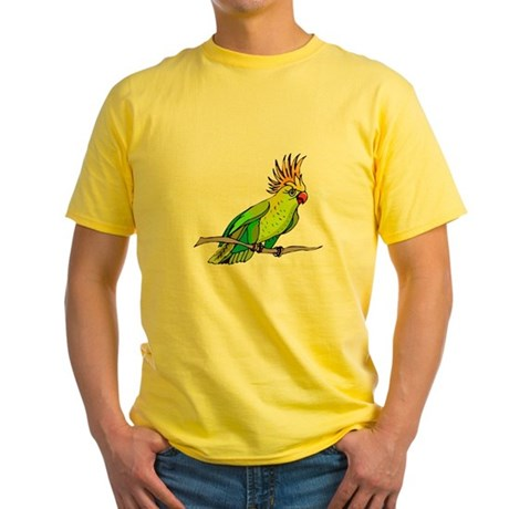 Cockatoo Yellow T-Shirt