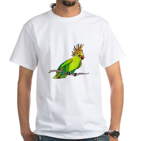 Cockatoo White T-Shirt