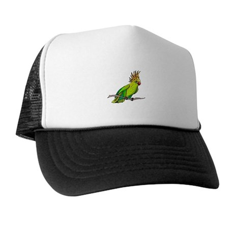Cockatoo Trucker Hat