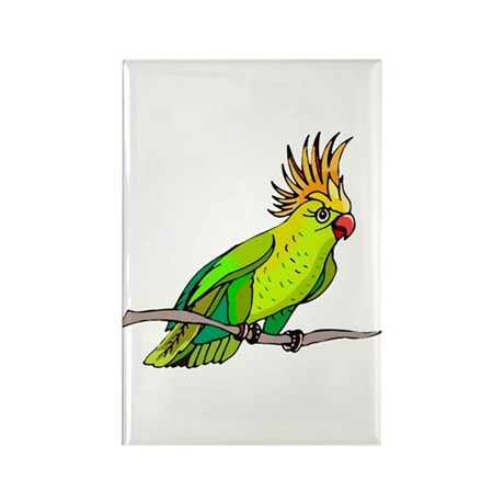 Cockatoo Rectangle Magnet (10 pack)