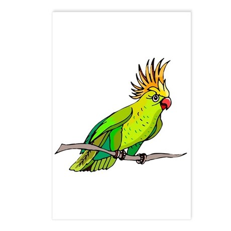 Cockatoo Postcards (Package of 8)
