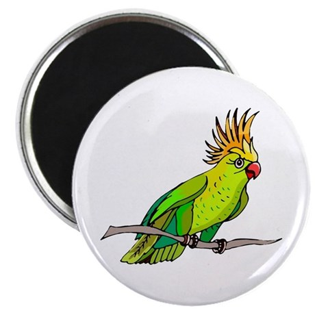 "Cockatoo 2.25"" Magnet (10 pack)"