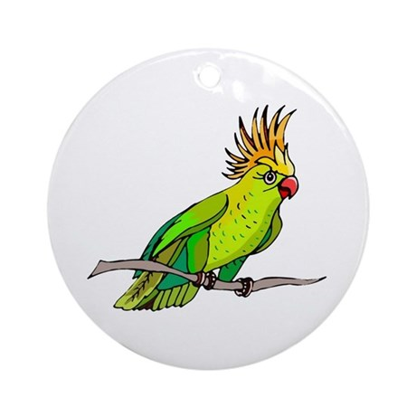 Cockatoo Ornament (Round)