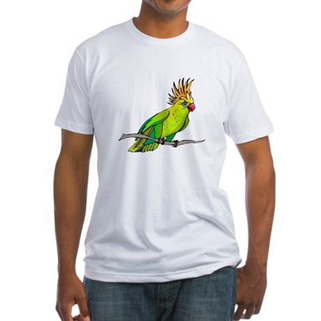 Cockatoo Fitted T-Shirt
