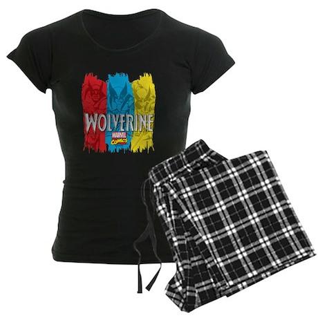 Wolverine Paint Women's Dark Pajamas