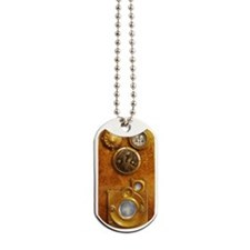 Steampunk Uhr Dog Tags