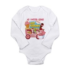 The Ice Cream Truck Long Sleeve Infant Bodysuit