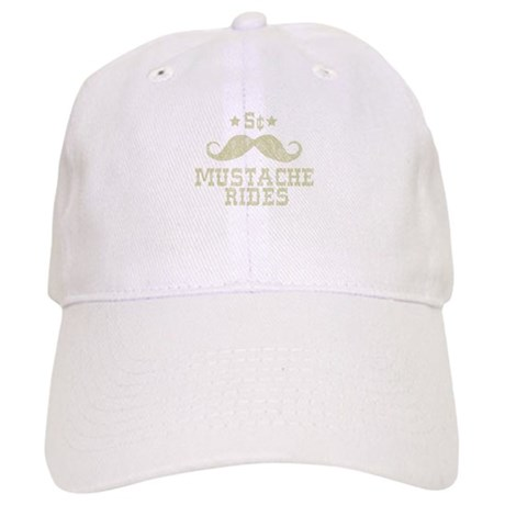 5 Mustache Rides (Vintage) Cap