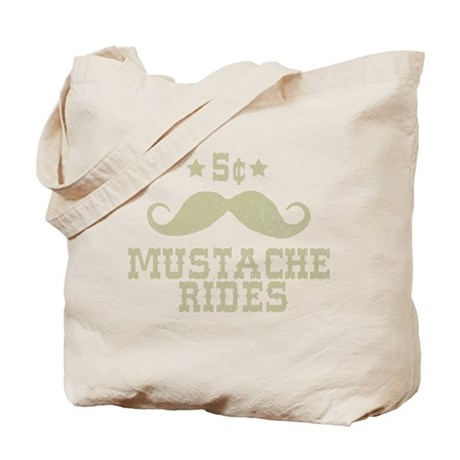 5 Mustache Rides (Vintage) Tote Bag