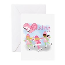 Love Skating Greeting Cards (Pk of 10)
