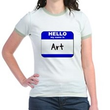 hello my name is art T