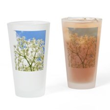 Elderflower Sky Drinking Glass