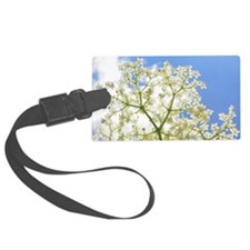 Elderflower Sky Luggage Tag