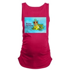 buona fortuna Maternity Tank Top