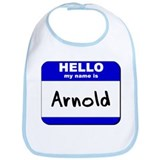 hello my name is arnold  Bib