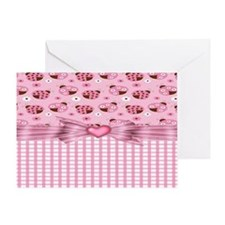 Lucky Ladybugs Greeting Card