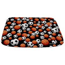 Soccer & Basketball Bathmat