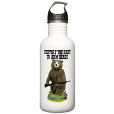 I SUPPORT THE RIGHT TO Water Bottle