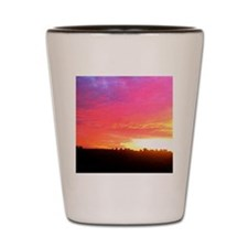 My Perfect Sunset Cat Forsley Designs Shot Glass