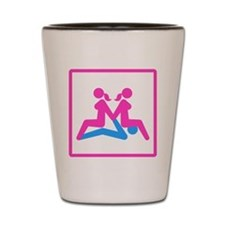 Kamasutra - Menage a Trois (FMF) Shot Glass