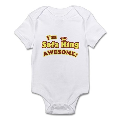 I'm Sofa King Awesome! Infant Bodysuit