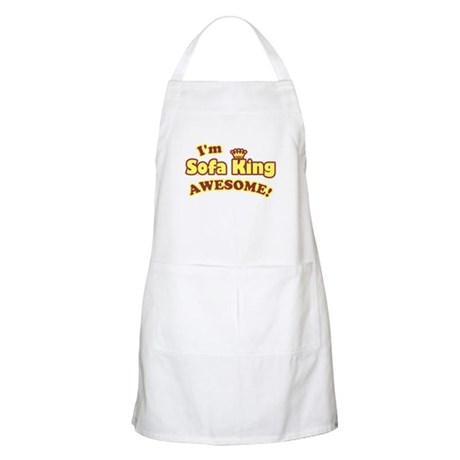 I'm Sofa King Awesome! BBQ Apron