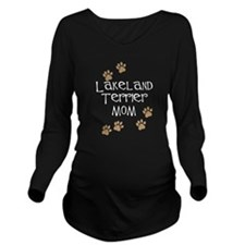 Lakeland Terrier Mom white Long Sleeve Maternity T