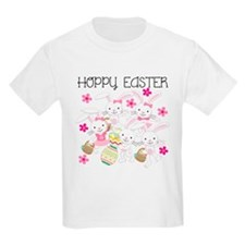 Bunnies Hoppy Easter T-Shirt