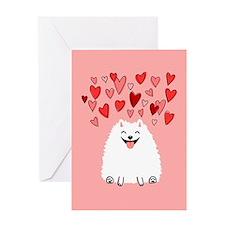 Pomeranian Valentine's Day Card