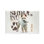 Shiba Inu Rectangle Magnet (10 pack)